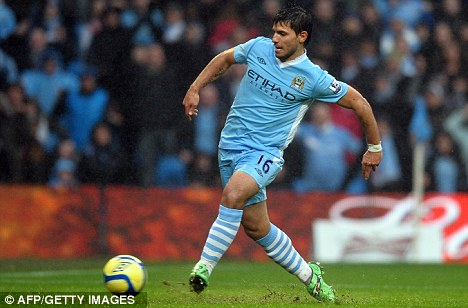 Power Serg: Aguero could return to bolster City's attack