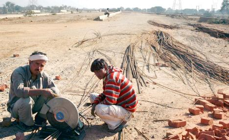 Construction on the Dwarka Expressway is due to be finished by October
