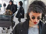 22.NOVEMBER.2015 - LONDON - UK\n**EXCLUSIVE ALL ROUND PICTURES**\nCasually dressed actor Robert Pattison and girlfriend FKA Twiggs arrive at Heathrow Airport from Los Angeles\nBYLINE MUST READ : XPOSUREPHOTOS.COM\n***UK CLIENTS - PICTURES CONTAINING CHILDREN PLEASE PIXELATE FACE PRIOR TO PUBLICATION***\nUK CLIENTS MUST CALL PRIOR TO TV OR ONLINE USAGE PLEASE TELEPHONE 0208 344 2007