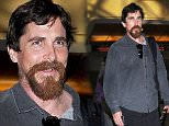 Los Angeles, CA -  A bearded Christian Bale is all smiles as he departs out of LAX. \n  \nAKM-GSI       November 21, 2015\nTo License These Photos, Please Contact :\nSteve Ginsburg\n(310) 505-8447\n(323) 423-9397\nsteve@akmgsi.com\nsales@akmgsi.com\nor\nMaria Buda\n(917) 242-1505\nmbuda@akmgsi.com\nginsburgspalyinc@gmail.com