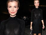 Picture Shows: Joanna Krupa  November 21, 2015\n \n Polish model Joanna Krupa is seen leaving Craig's Restaurant in West Hollywood, California. Joanna was rocking a see through dress during her night out!\n \n Non-Exclusive\n UK RIGHTS ONLY\n \n Pictures by : FameFlynet UK © 2015\n Tel : +44 (0)20 3551 5049\n Email : info@fameflynet.uk.com