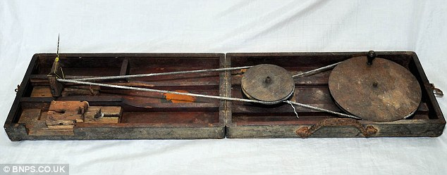 Gandhi's Chukra, a type of sewing kit,