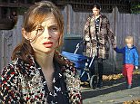 Picture Shows: Sophie Ellis-Bextor, Ray Jones  November 18, 2015\\n \\n Singer Sophie Ellis-Bextor seen out for a walk with her son Ray and newborn baby Jesse in London, UK.\\n \\n Sophie, who gave birth just two weeks ago, was dressed casually in a checkered tweed coat.\\n \\n Exclusive\\n WORLDWIDE RIGHTS\\n \\n Pictures by : FameFlynet UK � 2015\\n Tel : +44 (0)20 3551 5049\\n Email : info@fameflynet.uk.com