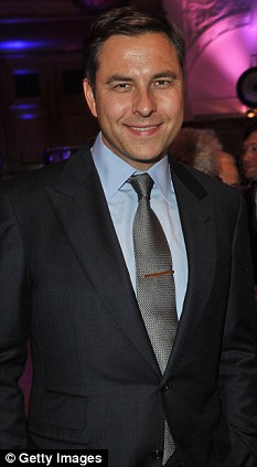 Screen star: David Walliams will also be joining the BGT panel