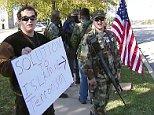 mosque florida gun-toting protest