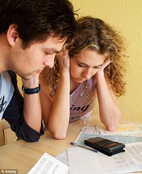 Money matters: Thousands of couples are struggling to save for a pension