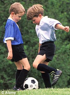 Physical activity can improve academic achievement in children and teenagers (picture posed by models)