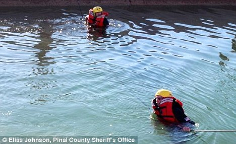 Divers: Authorities had originally clung to the hope they could find the boys alive but their worst fears were confirmed
