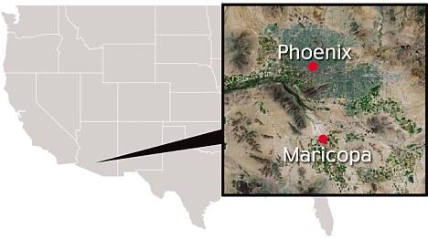Location: Maricopa lies around 30 miles south of Phoenix in Arizona