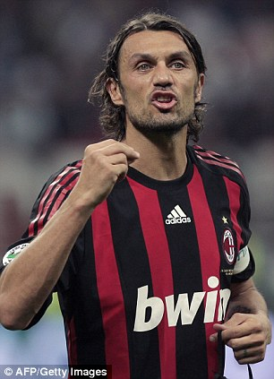 Maldini: Only his sons will be allowed to wear number 3 for Milan