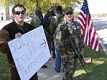 mosque florida gun-toting protest