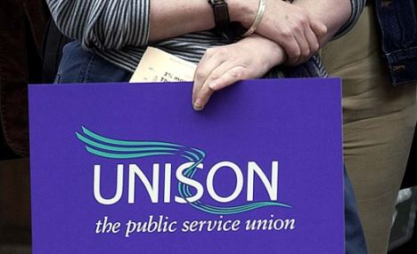 Timely rewards: Pay rates published by Unison show there are 49 increments for council workers on pay rates of between £12,145 and £41,616
