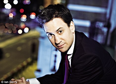 'I don't think I'm awkward. I go round the country and I talk to people and (being weird) is never what anyone says,' said Ed Miliband