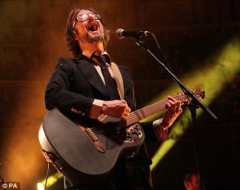 Do you remember the first time? Pulp frontman Jarvis Cocker performs at the Teenage Cancer Trust gig at the Royal Albert Hall