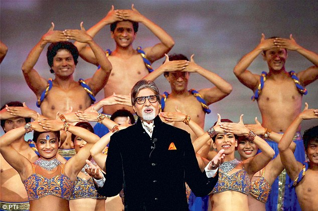 Bollywood actor Amitabh Bachchan also marked his presence at the gala opening cermeony on Tuesday