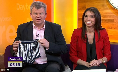 Gone, but not forgotten: Adrian Chiles and Christine Bleakley presented the show last year