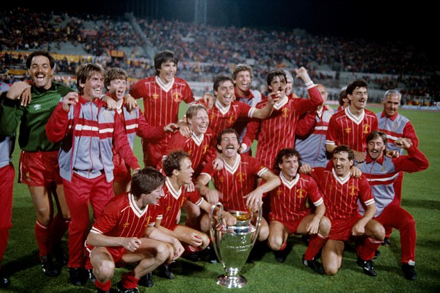 Kings of Europe: Dalglish, a winner in 1984, needs his side to return to the top level before it is too late