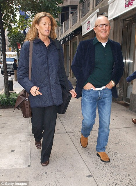 Parents Again: Revlon CEO Ron Perelman leaves Nello's Restaurant with Anna Chapman (left) on September 29, 2006 in New York City