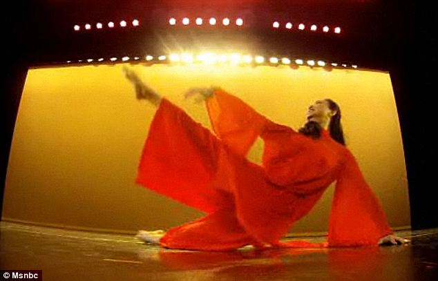 Impressive: Jin Xing is a celebrated dancer in China