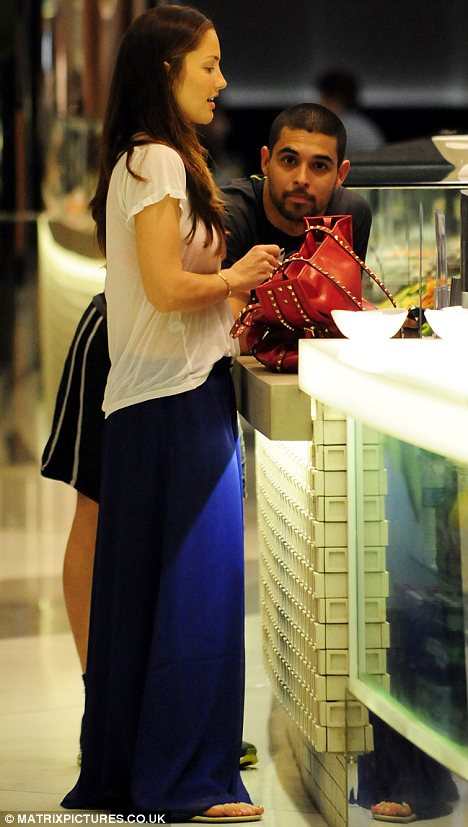 Blossoming romance: Minka and Wilmer were seen getting lunch together in Sydney over the weekend