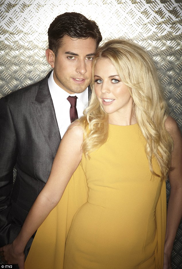 Old love: Arg and Lydia Bright reunited and broke up while on The Only Way Is Essex