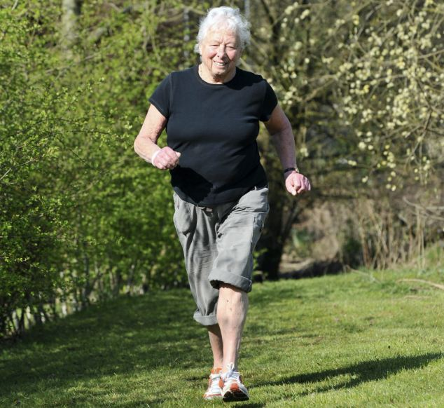 Muriel Brown, from Saddleworth, Greater Manchester, is to be the oldest torch bearer for the 2012 London Olympic Games