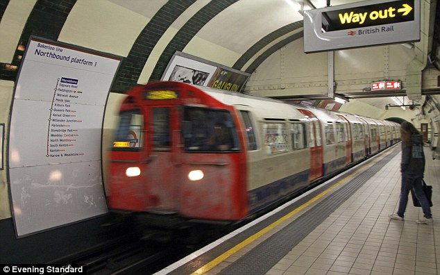 In the money: London Underground drivers could pocket bonus payments of up to £6,000 during the Olympics following negotiations with the drivers' union