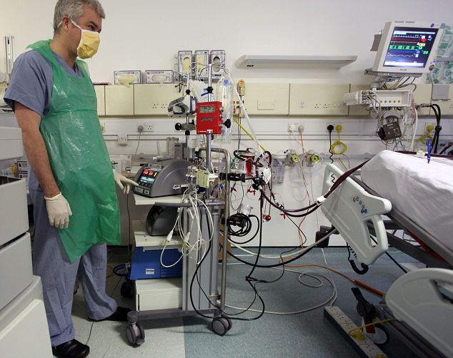 The ECMO machine was used on living patients to help them recover from swine flu (as seen her at the Royal Brompton Hospital). Now surgeons have used the system to preserve donor organs