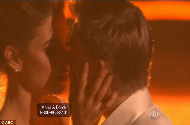 Chemistry: The kiss did not appear to be essential to the dance, and even the judges noticed the electrical chemistry between the two