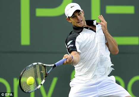 Hot Rod: Andy Roddick has won the Queen's title four times