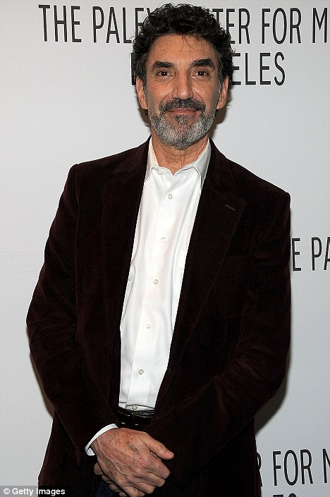 Dirty laundry: Chuck Lorre who created the sitcom became embroiled in a public battle with the star