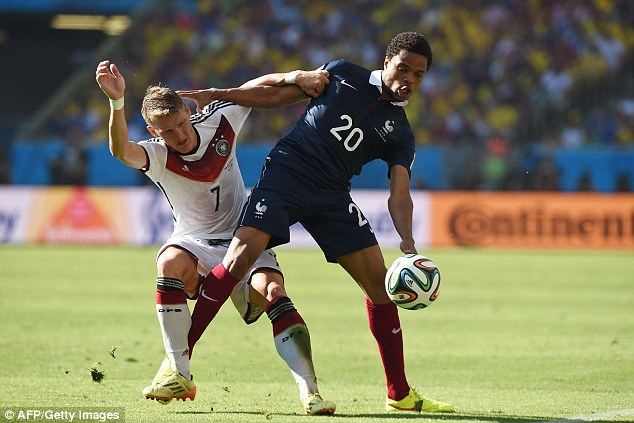 Option: Liverpool have also considered a move for QPR and France striker Loic Remy (right) this summer