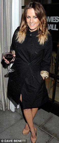 New role: Caroline Flack is said to have been offered £500,000 to become the face of CougarLife.com