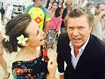Richard Wilkins and Lisa Wilkinson