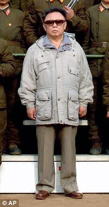 Kim Jong Il who died in December