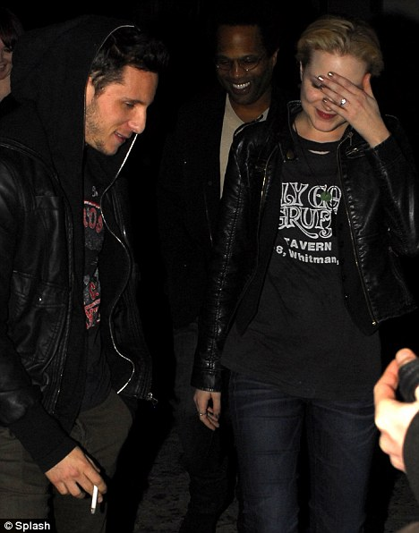 Engagement rumours: Jamie Bell's love Evan Rachel Wood was wearing a diamond ring on her wedding finger while out in Hollywood over the weekend