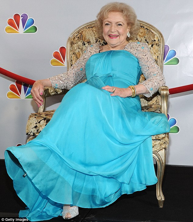 Belle of the ball: Betty White held court at the TV special held in honour of her 90th birthday