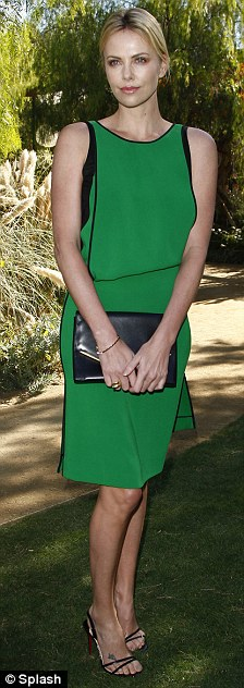 On form: The actress attended Variety's Indie Impact Award afternoon luncheon where she was honoured for her commitment to independent films