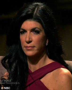 Double elimination: Teresa Guidice (L) and Lisa Lampanelli were both axed from Celebrity Apprentice