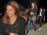 EXCLUSIVE: 11/22/15 Cindy Crawford and daughter Kaia Jordan Gerber are seen arriving at their hotel on Saturday Night on November 22nd, 2015. \n\nPictured: Cindy Crawford, Kaia Jordan Gerger\nRef: SPL1182403  211115   EXCLUSIVE\nPicture by: Luis Yllanes / Splash News\n\nSplash News and Pictures\nLos Angeles: 310-821-2666\nNew York: 212-619-2666\nLondon: 870-934-2666\nphotodesk@splashnews.com\n