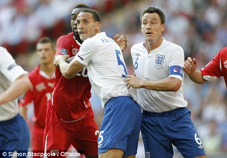 Doubt: Hodgson may leave Terry at home