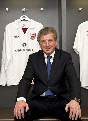 In charge: Hodgson will take England to this summer's finals