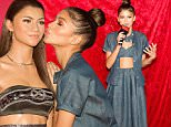 SAN FRANCISCO, CA - NOVEMBER 21:  Zendaya reveals two wax figures of herself at Madame Tussauds San Francisco on November 21, 2015 in San Francisco, California.  (Photo by Miikka Skaffari/FilmMagic)