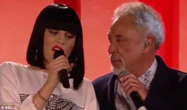 Making sweet music: The pair sang Mockingbird for the BBC Radio 2 broadcast