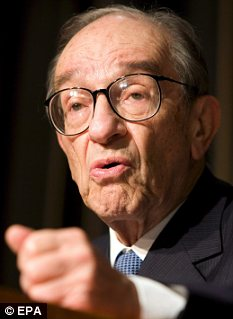 Overrated? Alan Greenspan's genius is now less highly regarded than it was