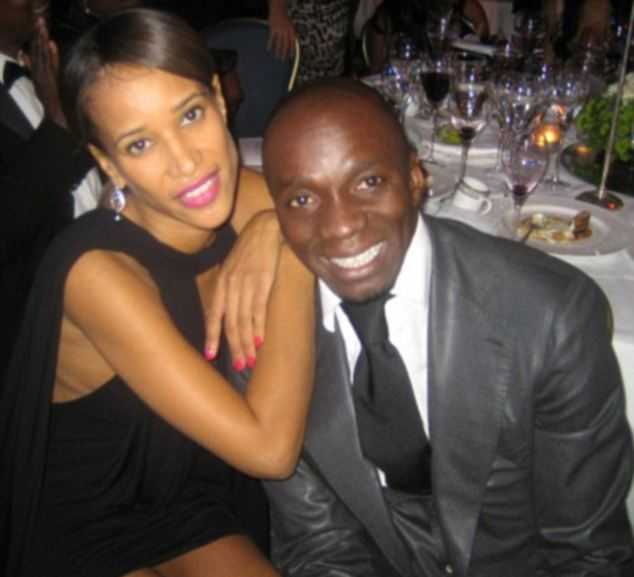 'Violence': British events organiser Thandi Ojeer, 35, said she was hit and grabbed around the neck by Claude Makelele, 39, at his luxury home near Paris