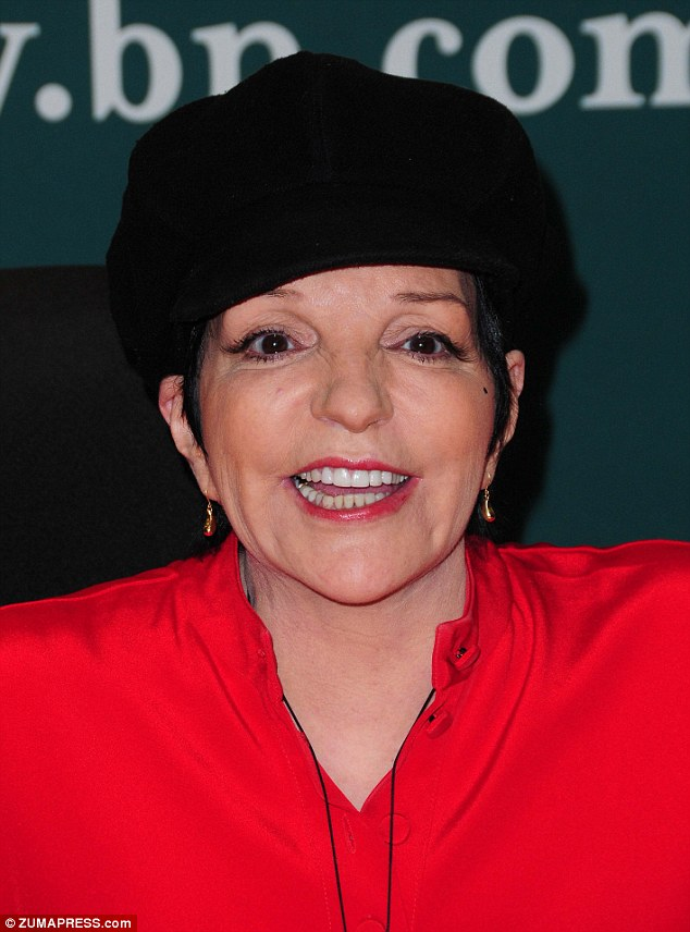 Ageing gracefully: Liza Minnelli looks beautiful at her CD signing in New York