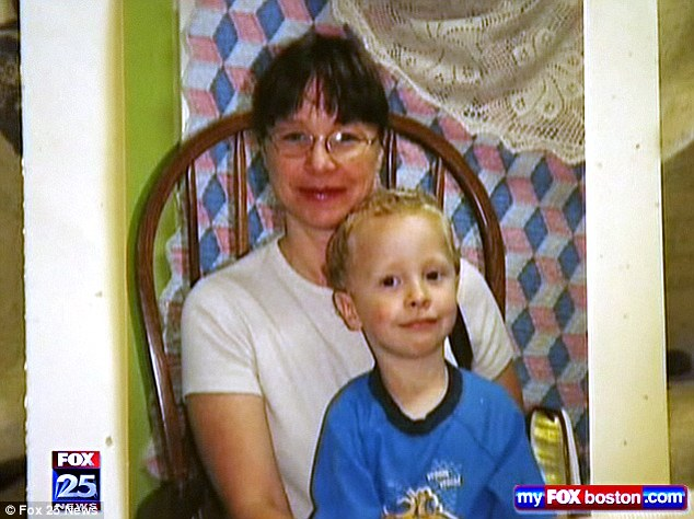 Together: McCrery is pictured with Camden, whose body was found along a road in Maine