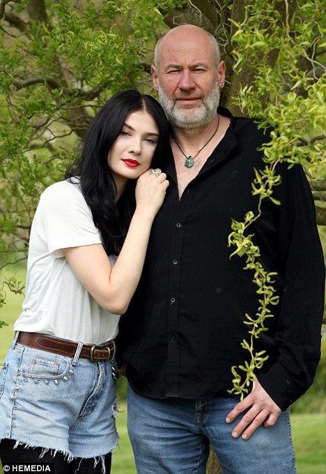 Tables have turned: Marillion frontman Fish has revealed that he is being nudged out of the limelight by his model daughter Tara Nowy