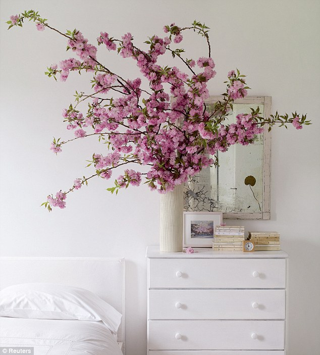 Blossoming bedroom